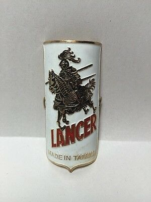 Vintage Antique Lancer Bicycle Head Badge