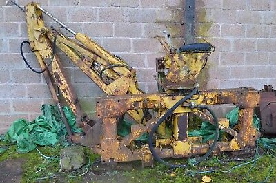 Massey Ferguson 220 Back Actor / Backhoe - as fitted to an Early 203 Digger