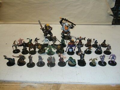 Lot of 34 Dungeon and Dragons Figures From the Legend Series?