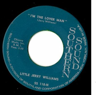 Soul northern soul popcorn Little Jerry Williams I'm the lover man MINT