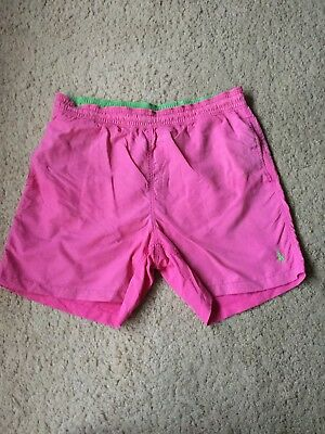 Ralph Lauren Pink Swimming Shorts Size Large