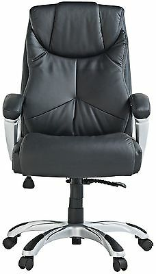 X-Rocker Leather Effect Executive High Back Height Adjustable Office Chair XR10.