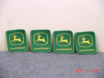 (4) John Deere Patches