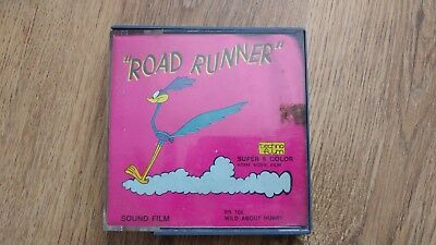 vintage super 8 roadrunner cartoon