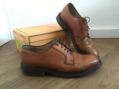 Barker Nairn Shoes 8.5 Brown Cedar grain RRP £285