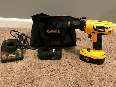 Used Dewalt 18V Right Angle Electic Drill! (+ Extra Battery, Charger, Bag!)