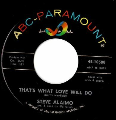 Soul northern soul popcorn Steve Alaimo That's what love will do