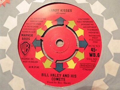 1960's-BILL HALEY+COMETS-CANDY KISSES-W.BROS WB6