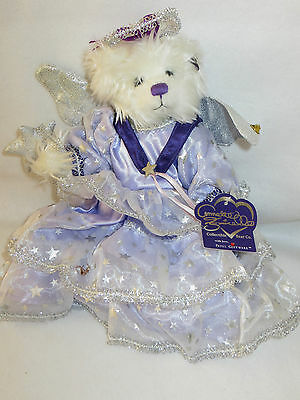 """beary Godmother"" Annette Funicello Fully Jointed Ltd Ed Bear - Mib"