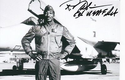 "Air Force F-4 ""nam Pilot And F-15 Test Pilot, Signed Photo By F-15."