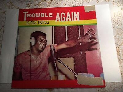 King Kong Trouble Again LP jAMMY'S EXC 1987