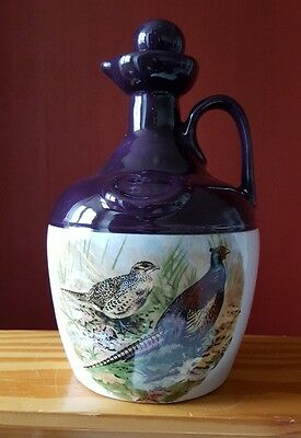 Montrose pottery handcrafted Whisky decanter