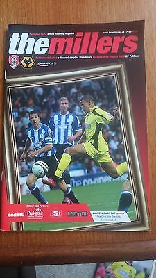 Rotherham United v Wolverhampton Wanderers League Cup 26-8-2008