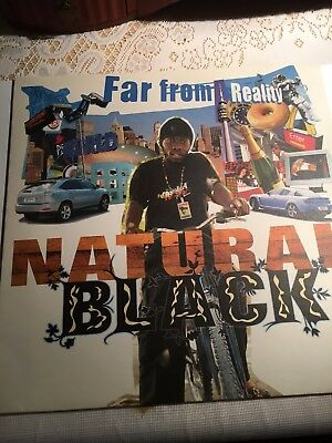 Natural Black Far from reality LP NM