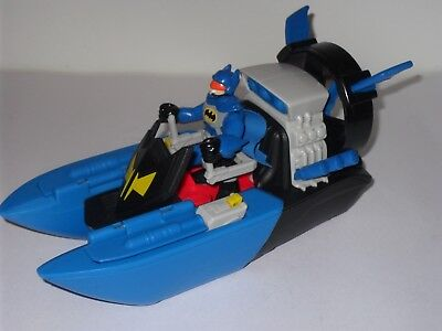Imaginext Batman Figure With Batboat Hover Boat