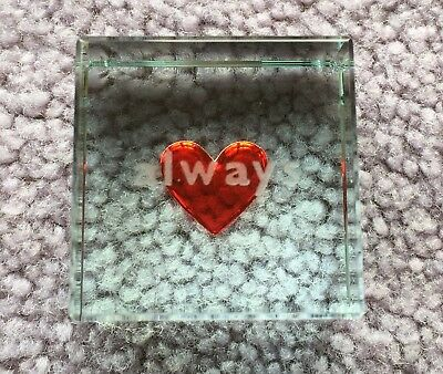 Glass Block Ornament – Love Always