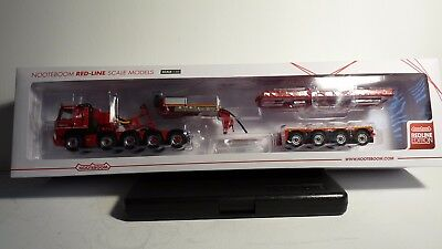 WSI 02-1591 Volvo FM 10x4 Noteboom With Euro PX 4-Axle Trailer New 1:50