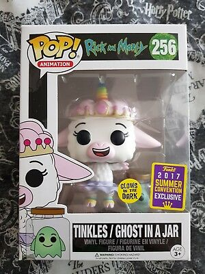 Rick and Morty Tinkles/Ghost in a Jar Glow in the Dark Funko SDCC 2017 Pop Vinyl