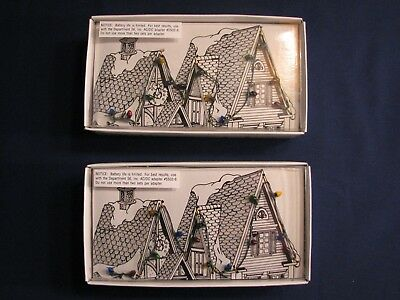 Dept 56 Village Light #52159 (Lot of 2 sets) NEW, tested, MIB, combine shipping