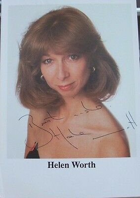 Helen Worth - Coronation Street - Gail Tilsley - Gail Platt - Signed Photo