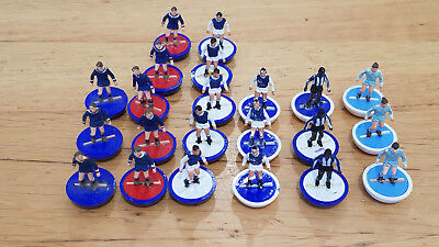 Bag of SUBBUTEO H/W PLAYERS Job Lot of 20+ Mixed loose players blue related #1