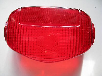 Suzuki GS250 GS550 GS750 GT750B + more Rear Brake Light Lens Tail Lamp Lens