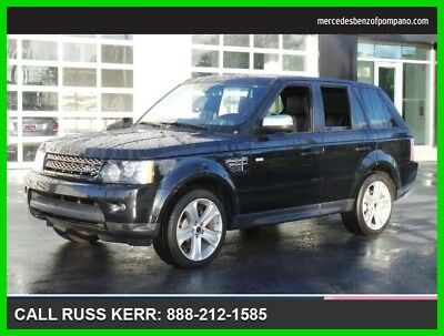 2012 Land Rover Range Rover Sport HSE LUX 2012 HSE LUX Used 5L V8 32V Automatic Four Wheel Drive SUV Premium