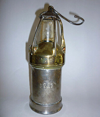 Antique Vintage European Miners Lamp Lantern