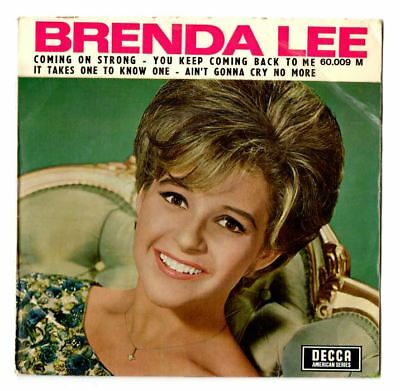 Soul northern soul popcorn Brenda Lee coming on strong EP