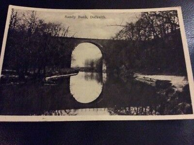 Milton Postcard Sandy Bank Dalkeith