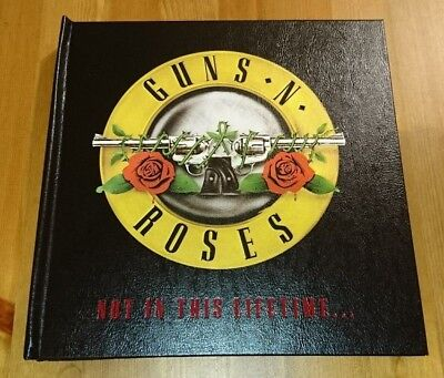 Guns N Roses 2017 Not In This Lifetime VIP Collectable / Limited Edition Book