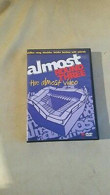 Almost Round 3 skateboard DVD with 3D Glasses.