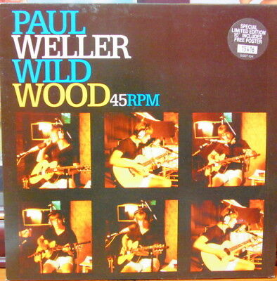 "Paul Weller - 'wild Wood ' 10"" Vinyl With Poster -- The Jam - Style Council"