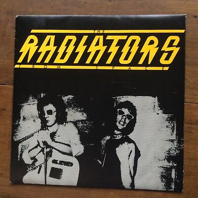 """THE RADIATORS FROM SPACE - Television Screen - 1977 UK Punk 7"""" Single - Vinyl NM"""