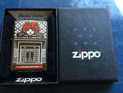 Zippo Canada 65Th Anniversary Limited Edition Bottom Stamp