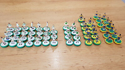 Bag of SUBBUTEO H/W PLAYERS Job Lot of 50+ loose players Green white & Brazil #8
