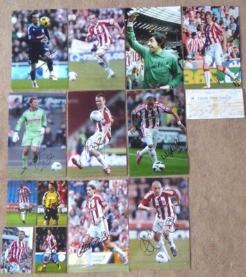 Stoke City FC: a Collection of Signed Photographs