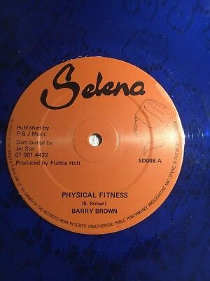 """Barry Brown / Heptones - Physical fitness  / lovers feeling 12"""" EXC / NM"""