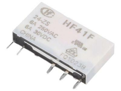 2x HF33F//005-ZS Relay electromagnetic SPDT Ucoil5VDC 5A//250VAC 5A//30VDC
