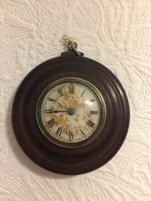 Antique Small Wall Clock