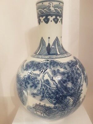 chinese blue and white porcelain with marks
