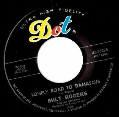 Soul northern soul popcorn Milt Rogers Lonely road to damascus MINT