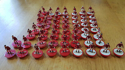 Bag of SUBBUTEO H/W PLAYERS Job Lot of 50+ loose players. Red related #1
