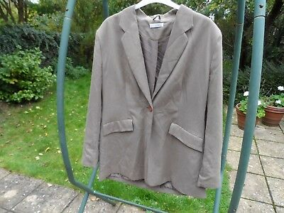 Long Tall Sally fawn skirt suit size 18 - 20 elegant business wear