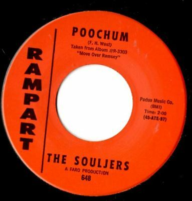 Soul northern soul popcorn Souljers Poochum / chinese checkers MINT