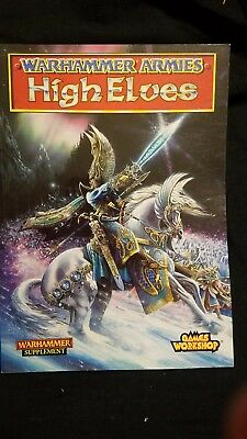Warhammer Fantasy Army 5th Ed Book High Elves: Defenders of Ulthuan