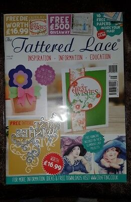 Tattered lace magazine including die