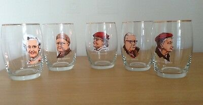 Coronation Street Character Glasses - Collectables