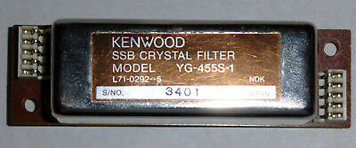 KENWOOD YG-455S-1 SSB FILTER TS940 / TS850 and others