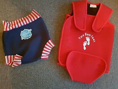 Baby Splash about happy nappy medium (3-8mths) and body warmer swimwear suit